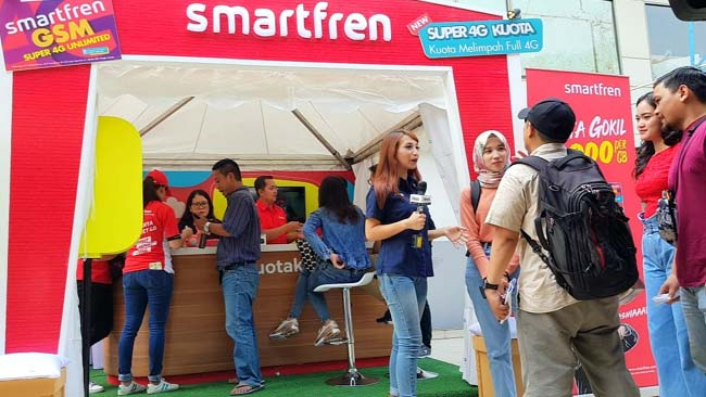 Lebaran 2019, Smartfren Catat Kenaikan Traffic Layanan Streaming dan Sosial Media