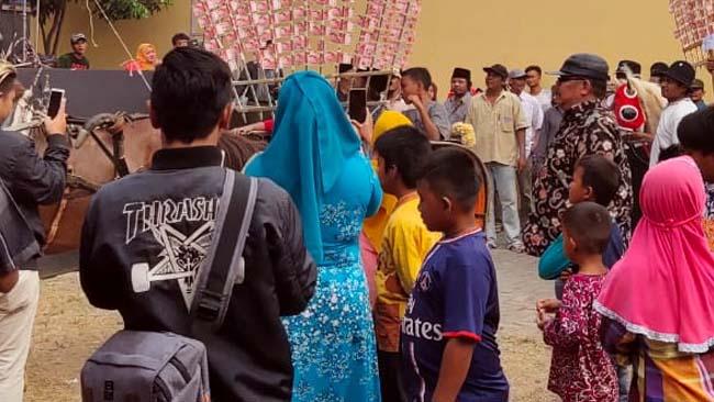 Upacara Soguk di Desa Sukorejo Gondanglegi beberapa Waktu lalu. (sur)