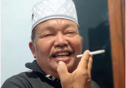 H Sugiyanto Salah Seorang Peserta Sogug. (H Mansyur Usman/Memontum.Com)